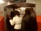 Real Fucking In A Subway With Shocking Passengers As Audience