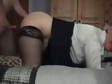 Granny Fucked Doggystyle By Her Grandpa