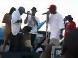 Black Chick Taped Giving A Blowjob on A Rap Stage During Concert