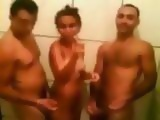 Latina Slut Shower Threesome