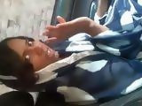 Beautiful Amateur Indian Girl Gives Quick Blowjob in the Car