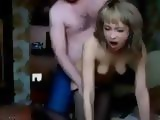 Guy Fuck Young Bitch And Splashed Her Pussy With Cum