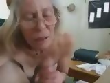 Amateur Granny Sucking Young Cock
