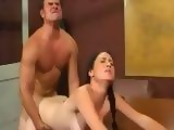 Her Anus Was Not Prepared For Hard Balls Deep Anal Fucking