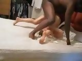 Amateur Wife Cheating On Her Hubby With Her Black Neighbor While He Is At Work