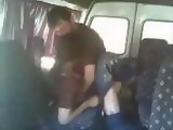 Party Couple Busted Fucking In A Van