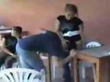 Guy Gets Dominated In Front Of All His Friends