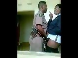 Real African Cops Having Sex at the Police Station