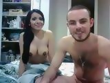 Amateur Teenage Couple Fucking On A Webcam