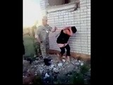 Real Ukrainian Soldiers Busted By Their Commander Fucking a Prostitute